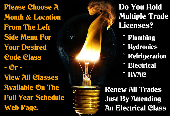 Ohio Electrical Training, Electrical Code Classes - OCILB, N.C. & KY ...